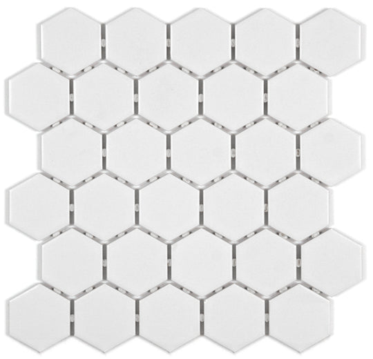 Solid Colours: Hexagon Mosaic