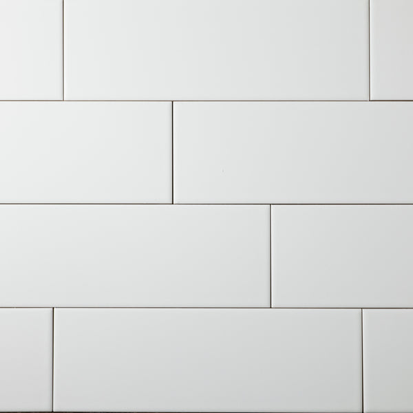 Arctic White Monokini Subway Tile 4