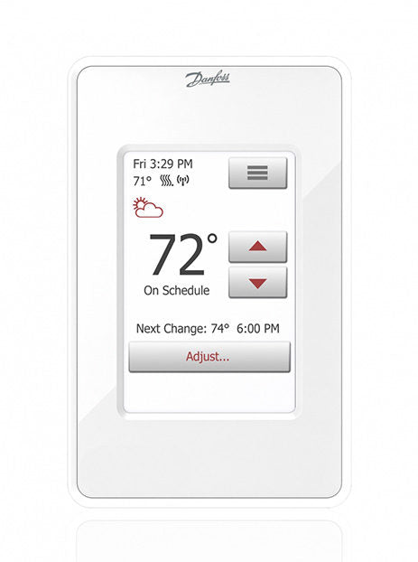 Danfoss Wi-Fi Touch Screen Programmable Thermostat