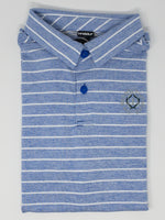 Load image into Gallery viewer, Striped Youth Polo