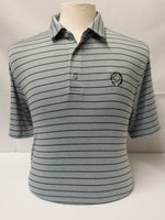 Load image into Gallery viewer, Heathered Stripe Polo