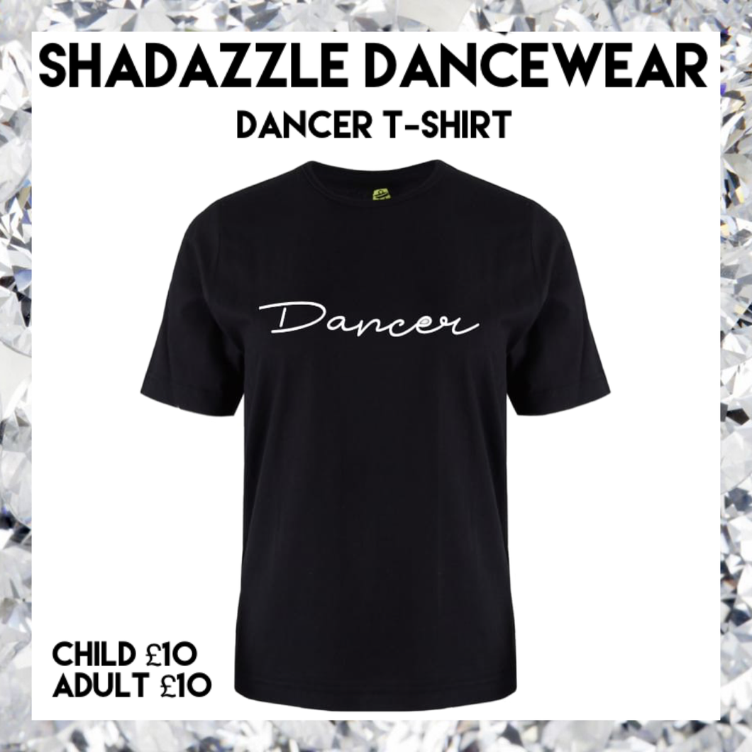 Dancer T-Shirt - Black