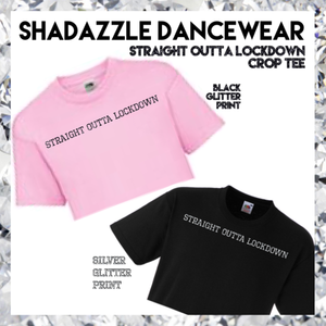 'Straight Outta Lockdown' Crop Tee