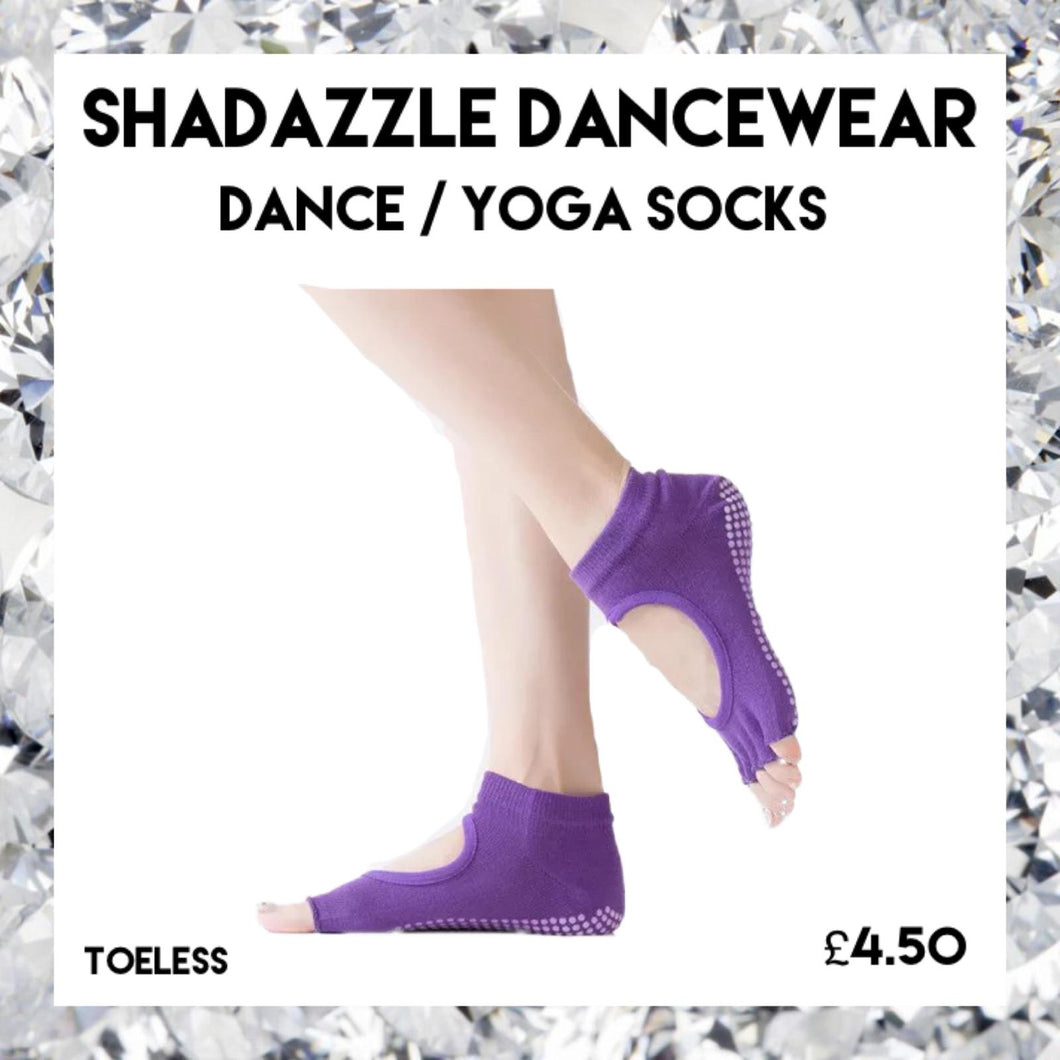 Shadazzle Dance Socks - Toeless