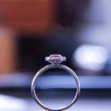 Load image into Gallery viewer, Pink helo diamond
