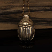 Load image into Gallery viewer, Egyptian Beetle necklace