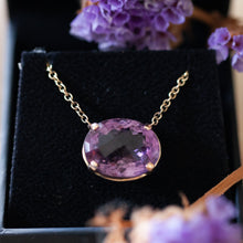 Load image into Gallery viewer, Royal amethyst necklace