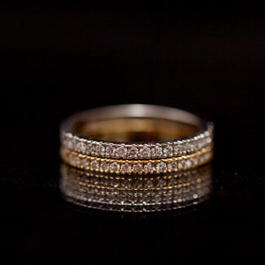 Eternity gold ring
