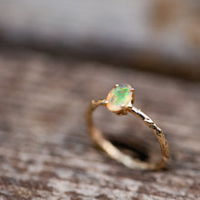 Load image into Gallery viewer, Mexican opal branch ring