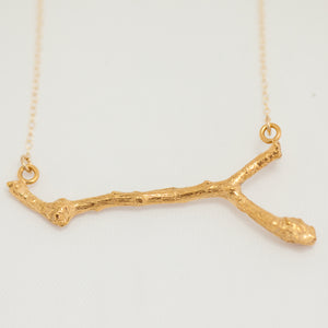 Thick Branch necklace