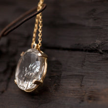 Load image into Gallery viewer, Rutilated Quartz necklace