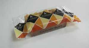 Caramel Slice - Treat size 8 per bag