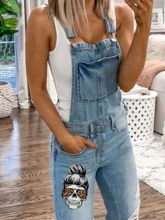 Sleeveless Casual One-Pieces
