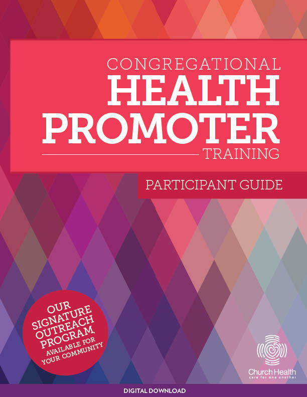 Congregational Health Promoter Participant Guide | Digital Download