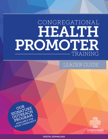 Congregational Health Promoters Leader Guide | Digital Download