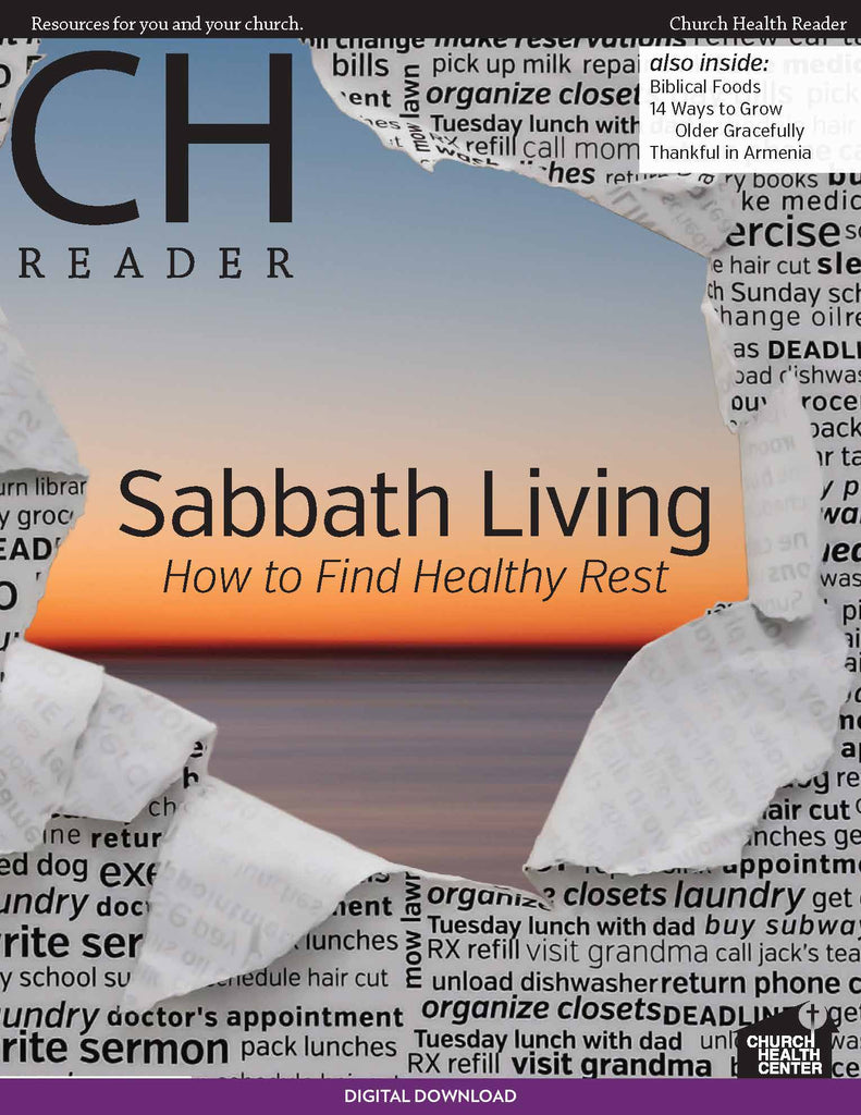 Fall 2013: Sabbath Living | Digital Download