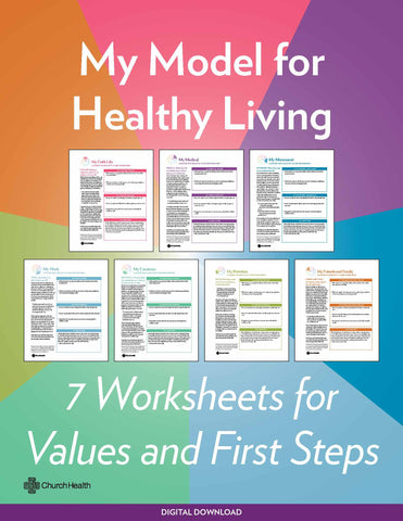 My Model for Healthy Living | Digital Download