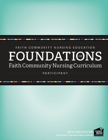 Foundations Participant Curriculum
