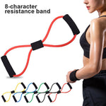 8-shaped multifunctional yoga rally waist and leg shaping