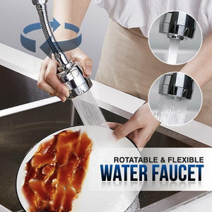 Rotatable Kitchen Water Faucet