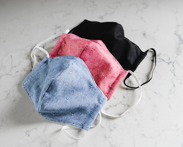 Adult Face Mask with Filter Pocket