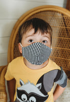 Children Size Face Mask with Filter Pocket