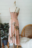 Pleasantly Pink Floral Dress