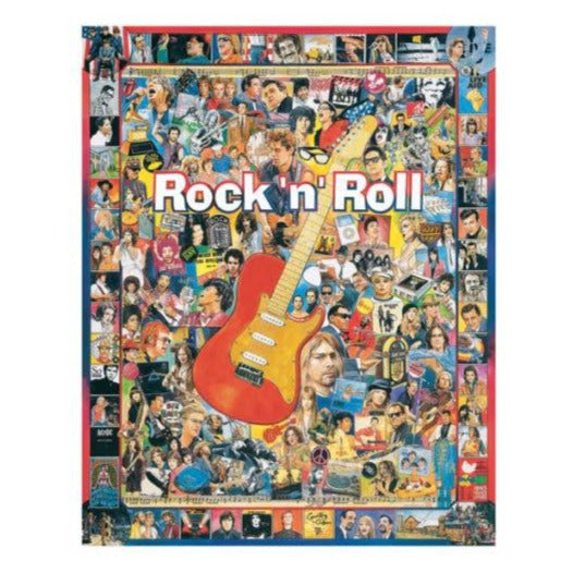 Rock 'N Roll 1000pc Puzzle