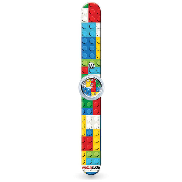 Slap Watch: Built Up Lego Bricks