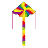 "Eco: Simple Flyer Rainbow Vortex 47"" Kite"