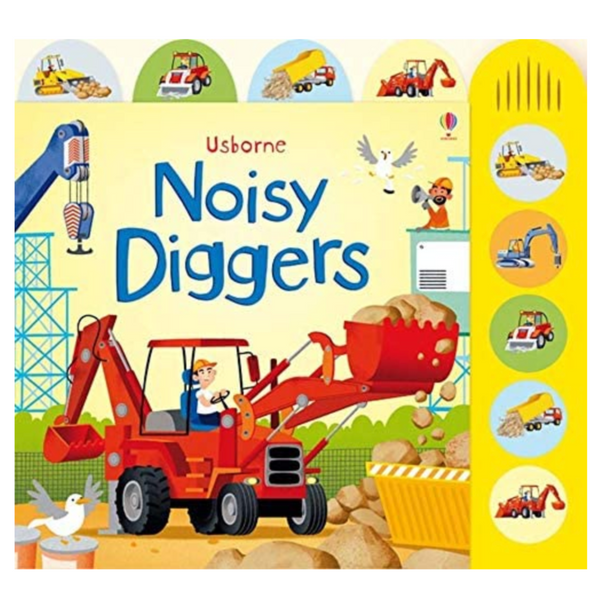 Noisy Digger Sound Book (Press and Sound)