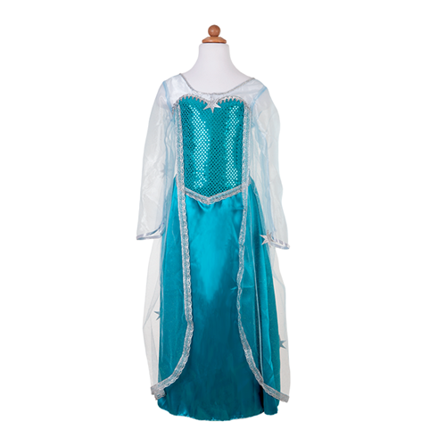 Frozen Ice Queen Dress (Multiple Sizes: 3-6 years)