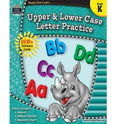 Upper & Lower Case Letter Practice: Grade K