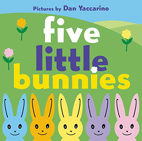 Five Little Bunnies, Board Book