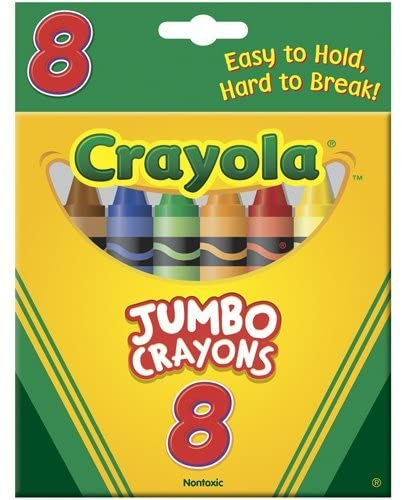 Jumbo Crayons, Set of 8