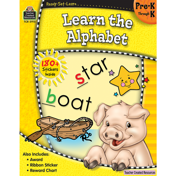 Learn The Alphabet: Grades Pre K-K