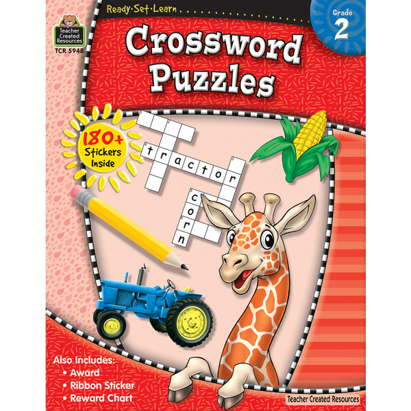 Crossword Puzzles: Grade 2