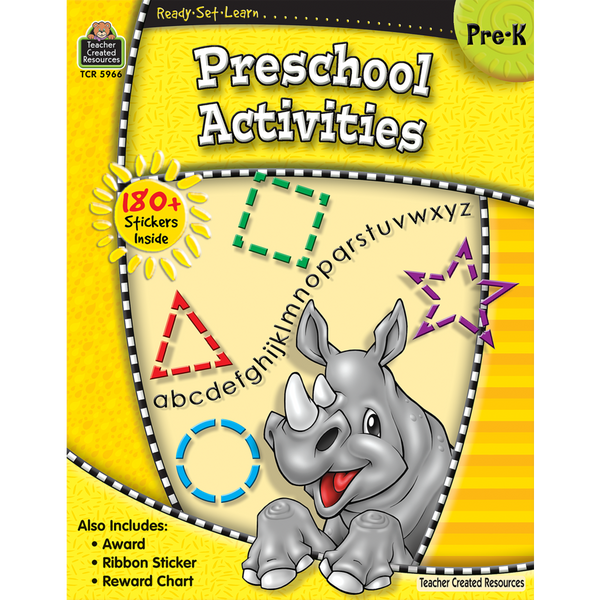 Preschool Activities: Grade Pre-K