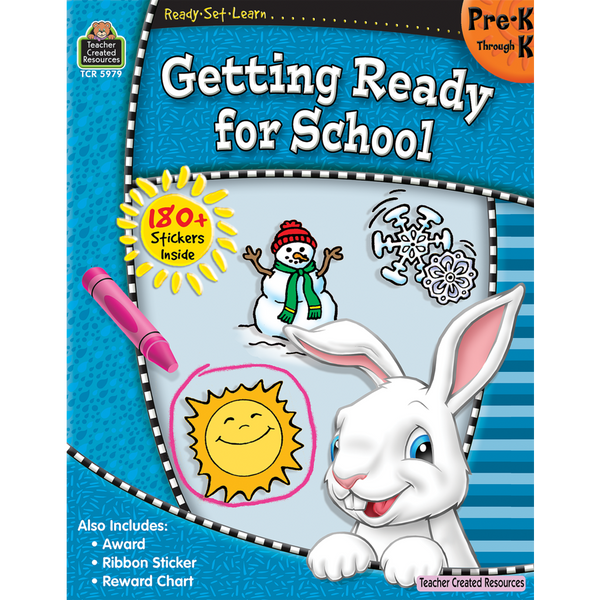 Getting Ready for School: Grades Pre K-K