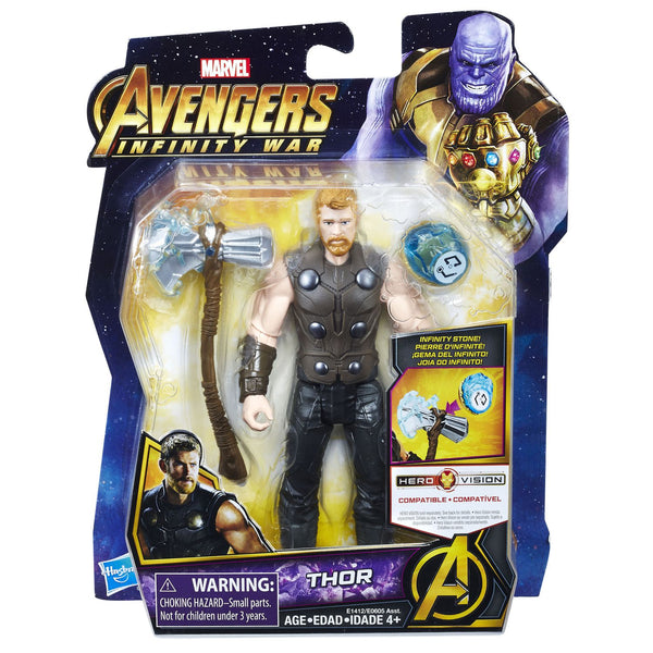 "Avengers End Game 6"" Action Figure, Assorted"