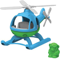 Green Toys Helicopter, Blue