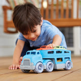 Green Toys Car Carrier with 3 Vehicles