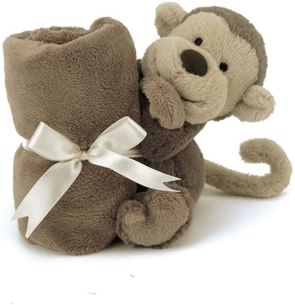 Soother Blanket: Bashful Monkey