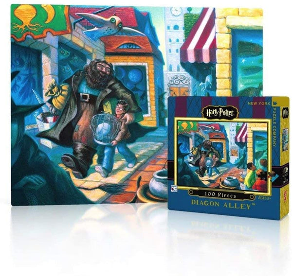 Harry Potter Diagon Alley 100pc Mini Puzzle