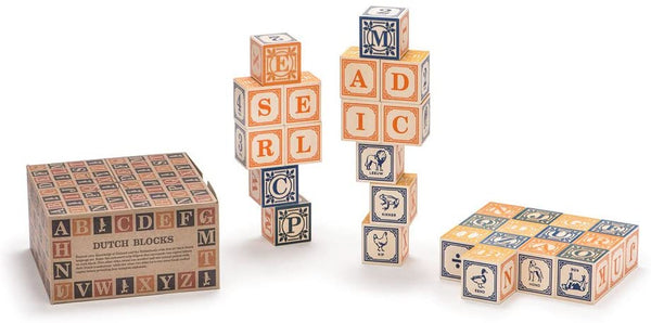 Wooden Dutch Blocks
