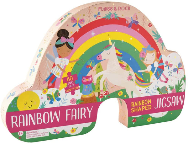 Rainbow Fairy 80pc Puzzle