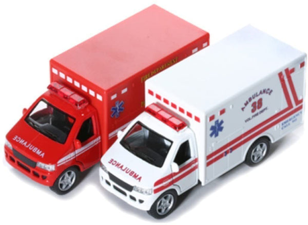 Pull Back Ambulance
