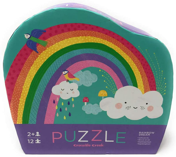 Mini 12pc Puzzle: Rainbow Dream