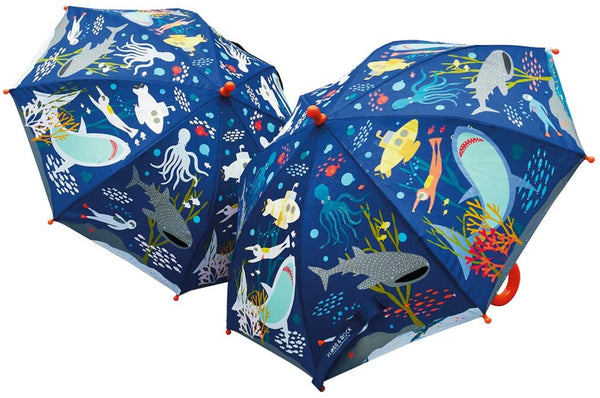 Color Changing Umbrella: Deep Sea