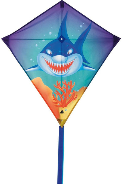 "Eddy Sharky 27"" Diamond Kite"